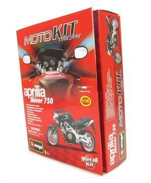 Set za slaganje BBURAGO 55010, Moto kit, Aprilia Shiver 750, 1:18