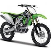 Set za slaganje BBURAGO 55015, Moto kit, Kawasaki KX 450F, 1:18