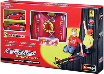 Trkaća pista BBURAGO 31205, Ferrari Race & Play, Racing Launcher, 1:43, lansirna rampa