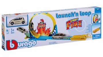 Trkaća pista BBURAGO 31205, Street Fire, Launch'n Loop, 1:43