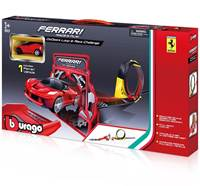 Trkaća pista BBURAGO 31302, Ferrari Race & Play, GoGears Loop and Race Challenge, 1:43