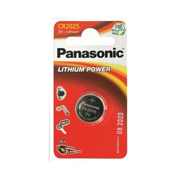 Baterija PANASONIC CR-2025EL/1B Lithium Power