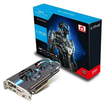 Grafička kartica PCI-E SAPPHIRE AMD RADEON R7 370 VAPOR-X, 4GB DDR5, DVI, HDMI, DP