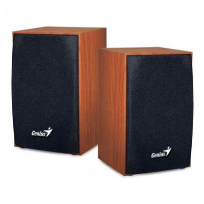 Zvučnici GENIUS SP-HF160, 2.0, USB, drveni