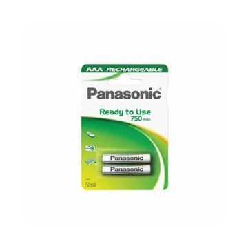 Baterija PANASONIC HHR-4MVE/2BC, AAA, 2 kom, punjive, 750mAh