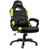 Gaming stolica NITRO CONCEPTS Comfort C80, crno-zelena