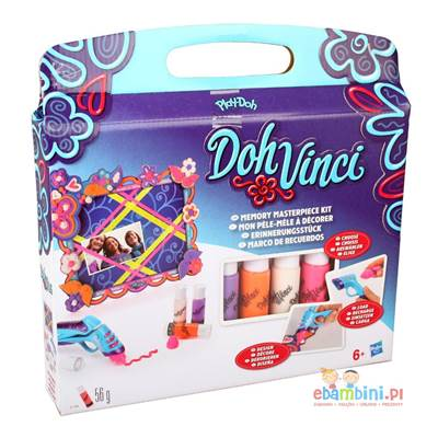 Kreativni set HASBRO A7189, Play-Doh DohVinci, Memory Masterpiece Ribbon Board Kit