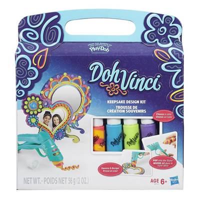 Kreativni set HASBRO B1717, Play-Doh DohVinci, Keepsake Kit