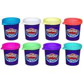 Masa za modeliranje HASBRO A1206, Play-Doh Plus, set, 8 boja