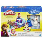 Masa za modeliranje HASBRO B1860, Play-Doh, Frozen Sled Adventure, set