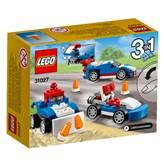 LEGO 31027, Creator, Blue Racer, plavi trkač, 3u1
