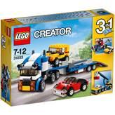 LEGO 31033, Creator, Vehicle Transporter, prijevoznik vozila, 3u1