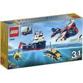 LEGO 31045, Creator, Ocean Explorer, istraživač oceana, 3u1