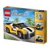 LEGO 31046, Creator, Fast Car, brzi auto, 3u1