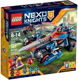 LEGO 70315, Nexo Knights, Clay's Rumble Blade, Clayeva gromovita oštrica