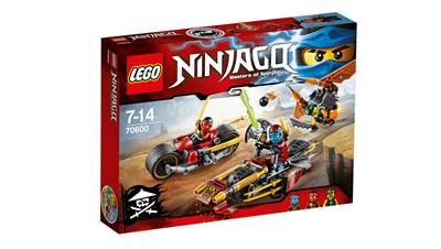 LEGO 70600, Ninjago, Ninja Bike Chase, motociklistička potjera ninja