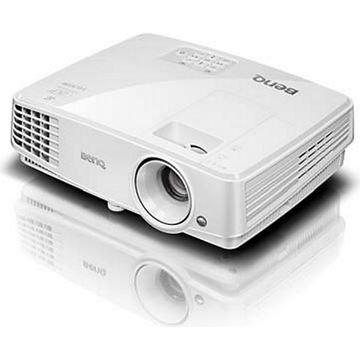 Projektor DLP, BENQ TW529 WXGA, 1280x800, 3300 ANSI lumena, 13000:1, zvučnici, 3D, D-Sub, HDMI, USB, bijeli