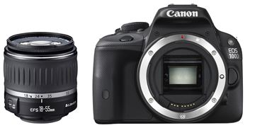 "Digitalni fotoaparat CANON EOS 100D + objektiv EF18 55mm DC III, 18 Mpixela, 3.0"" LCD, SD, SDHC, SDXC, HDMI"