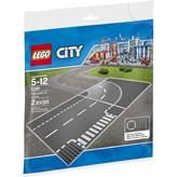 LEGO 7281, City, T-Junction & Curved Road Plates, T-spojnica i zavoj