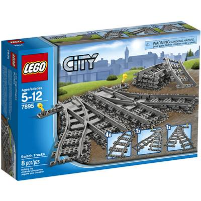 LEGO 7895, City, Switching Tracks, skretnice