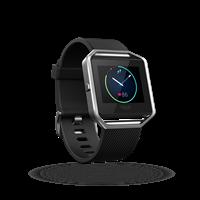 Sat FITBIT Blaze, GPS, multisport, senzor pulsa na zapešću, color touch-ekran, crna, veličina XL