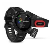 Sat GARMIN Forerunner 735XT RUNNING Bundle, GPS, multisport, mjerenje pulsa na zapešću, crno/sivi