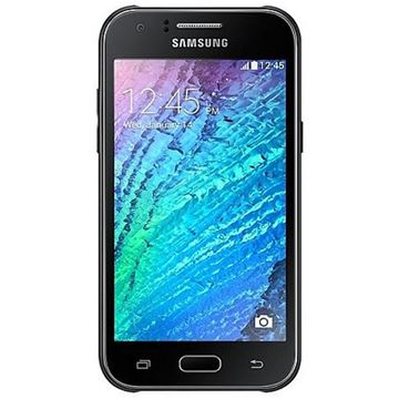 "Smartphone SAMSUNG Galaxy J1 J120F, 4.5"" multitouch, QuadCore Exynos 3475 1.3GHz, 1GB RAM, 8GB Flash, MicroSD, 2x kamera, Android 5.1.1, crni"