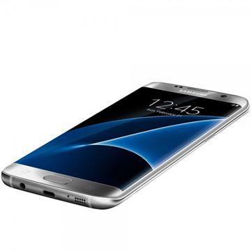 "Smartphone SAMSUNG Galaxy S7 Edge G935F, 5.5"" Super AMOLED multitouch, OctaCore Qualcomm MSM8996 Snapdragon 820 Exynos 8890 , 4GB RAM, 32GB Flash, 4G LTE, Android 5.0.2, srebrni"