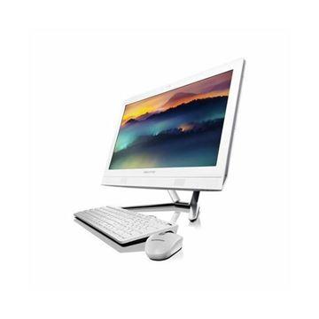 "Računalo LENOVO ALL-in-One 300-23ISU F0BY004GSC / Intel Pentium 4405U 2,10 GHz, 4GB, 500GB, Intel HD Graphics, 23"" IPS HD, DVDRW, G-LAN, WiFi, USB3.1, miš, tipkovnica, DOS, bijelo"