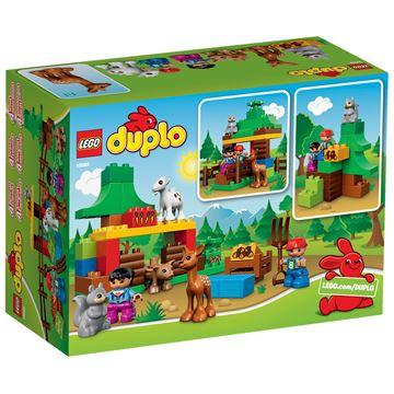 LEGO 10582, Duplo, Forest: Animals, šuma - životinje
