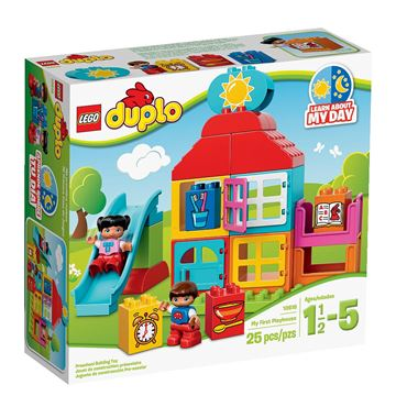 LEGO 10616, Duplo, My First Playhouse, moja prva kućica za igru