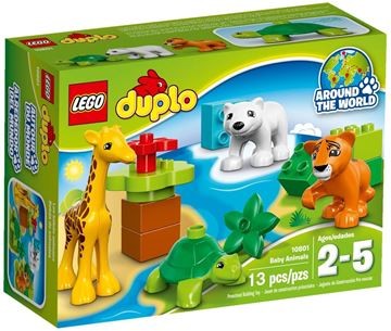 LEGO 10801, Duplo, Baby Animals, male životinje