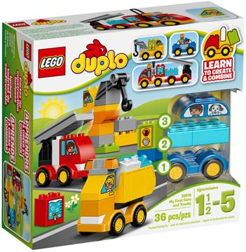 LEGO 10816, Duplo, My First Cars and Trucks, moja prva vozila