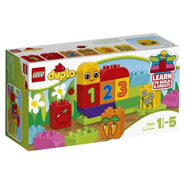 LEGO 10831, Duplo, My First Caterpillar, moja prva gusjenica