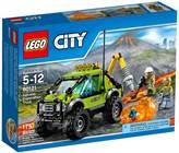 LEGO 60121, City, Volcano Exploration Truck, kamion za istraživanje vulkana