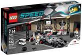 LEGO 75911, Speed Champions, McLaren Mercedes Pit Stop