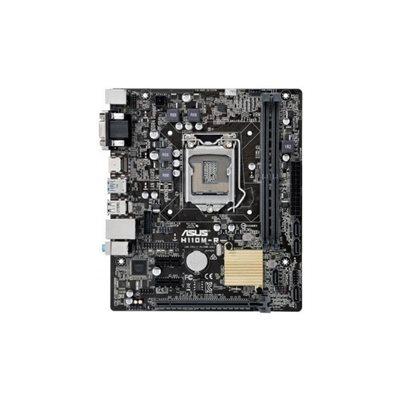 Matična ploča ASUS H110M-R/C/SI, Intel H110, DDR4, zvuk, G-LAN, S-ATA 3, PCI-E, USB 3.0, D-SUB, DVI-D, HDMI, mATX, s. 1151