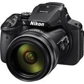 Digitalni fotoaparat NIKON Coolpix P900, 16 Mpixela, 83x optički zum, SD/SDHC/SDXC, USB, WiFi, crni