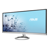 "Monitor 29"" LED ASUS MX299Q, UW-UXGA, IPS, 5ms, 300cd/m2, 80.000.000:1, DVI-D, HDMI, DP, srebni"