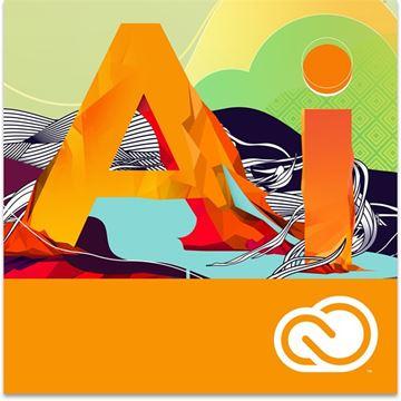 ADOBE Illustrator Creative Cloud licenca, elektronski proizvod (jednogodišnja pretplata)