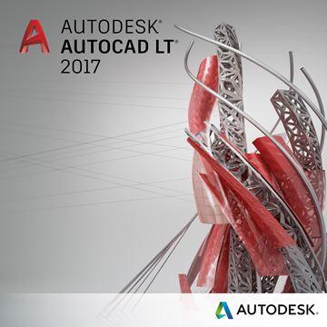 Autodesk AutoCAD LT 2017 jednokorisnički godišnji najam sa uključenom naprednom podrškom, elektronski proizvod