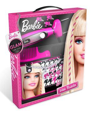 Igračka INTEK BBHL10, Barbie, uređaj za pletenje kose u torbici