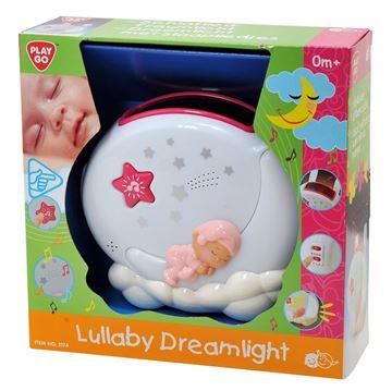 Igračka PLAYGO 1706, Lullaby Dreamlight, glazbena svjetiljka, roza