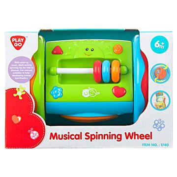Igračka PLAYGO 1740, Musical Spinning Wheel, glazbeni kotač