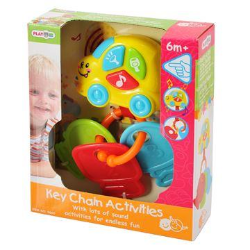 Igračka PLAYGO 2656, Key Chain Activities, privjesci za ključeve sa zabavnim aktivnostima