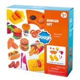 Masa za modeliranje PLAYGO 8584, Burger Set, set za izradu hamburgera