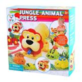 Masa za modeliranje PLAYGO 8646, Jungle Animal Press, životinje iz džungle, set