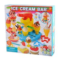 Masa za modeliranje PLAYGO 86569, Dough Ice Cream Bar, slastičarnica, set