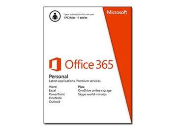 MICROSOFT Office 365 Personal 32-bit/x64, svi jezici, QQ2-00012, elektronski proizvod