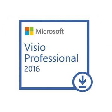 Elektronska licenca MICROSOFT, Visio Pro 2016 Win, D87-07114, svi jezici